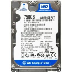 HDD 750 Go 2.5 SATA