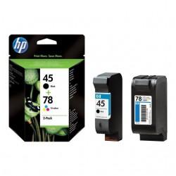 HP 45+78 black+color