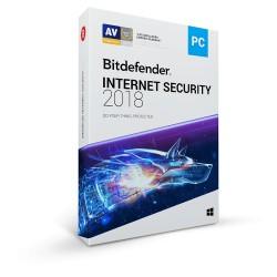 Bit Defender Internet Security 2018 - OEM - 1 an / 1 PC